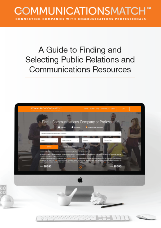 Guide to Finding & Selecting PR & Communications Agencies