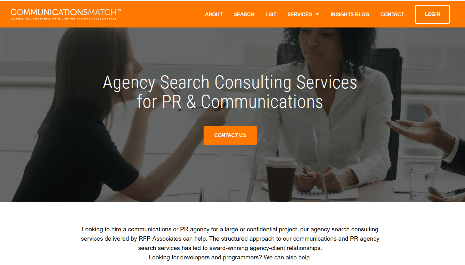 PR Agency Search Consultants