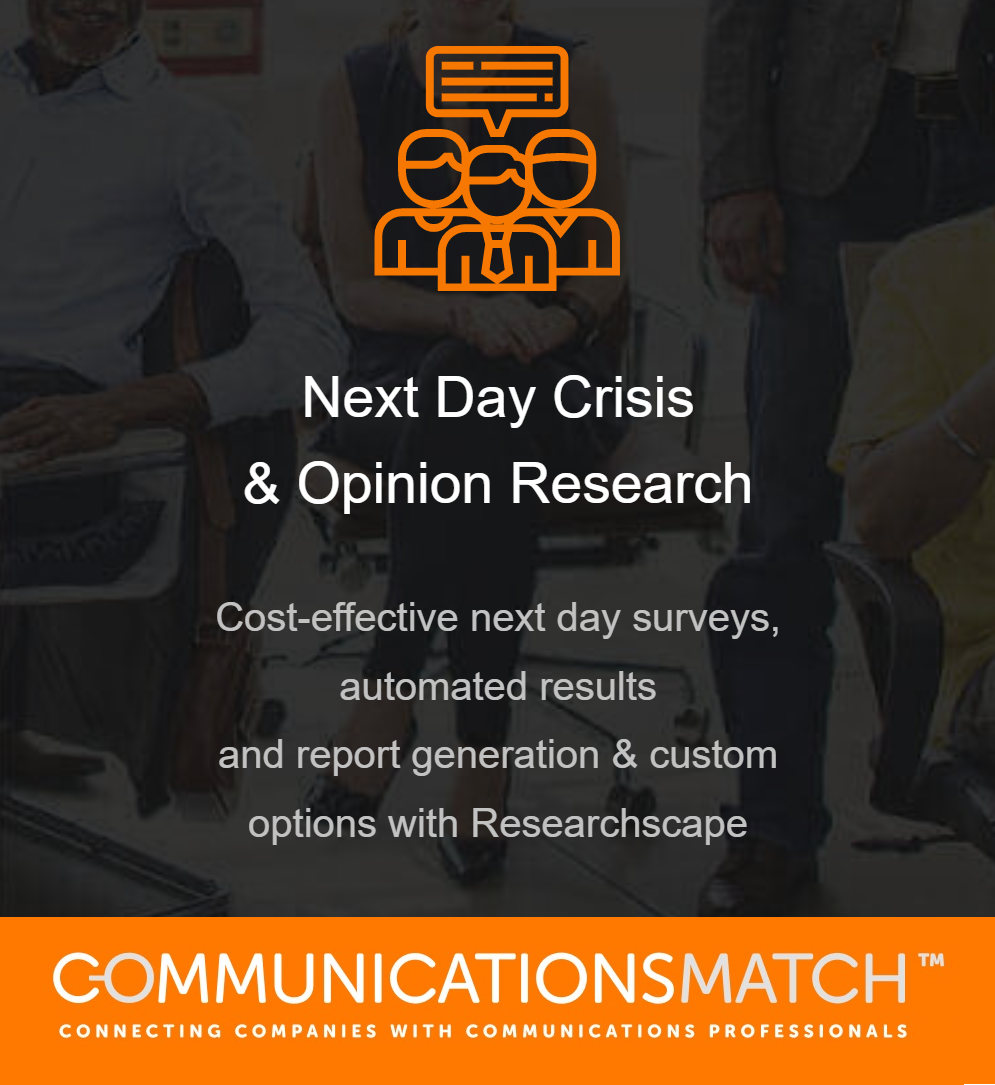 Crisis Communications & Opinion Survey