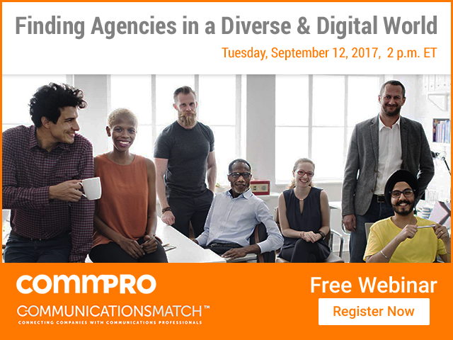 Finding PR & Communications Agencies in a Diverse & Digital World