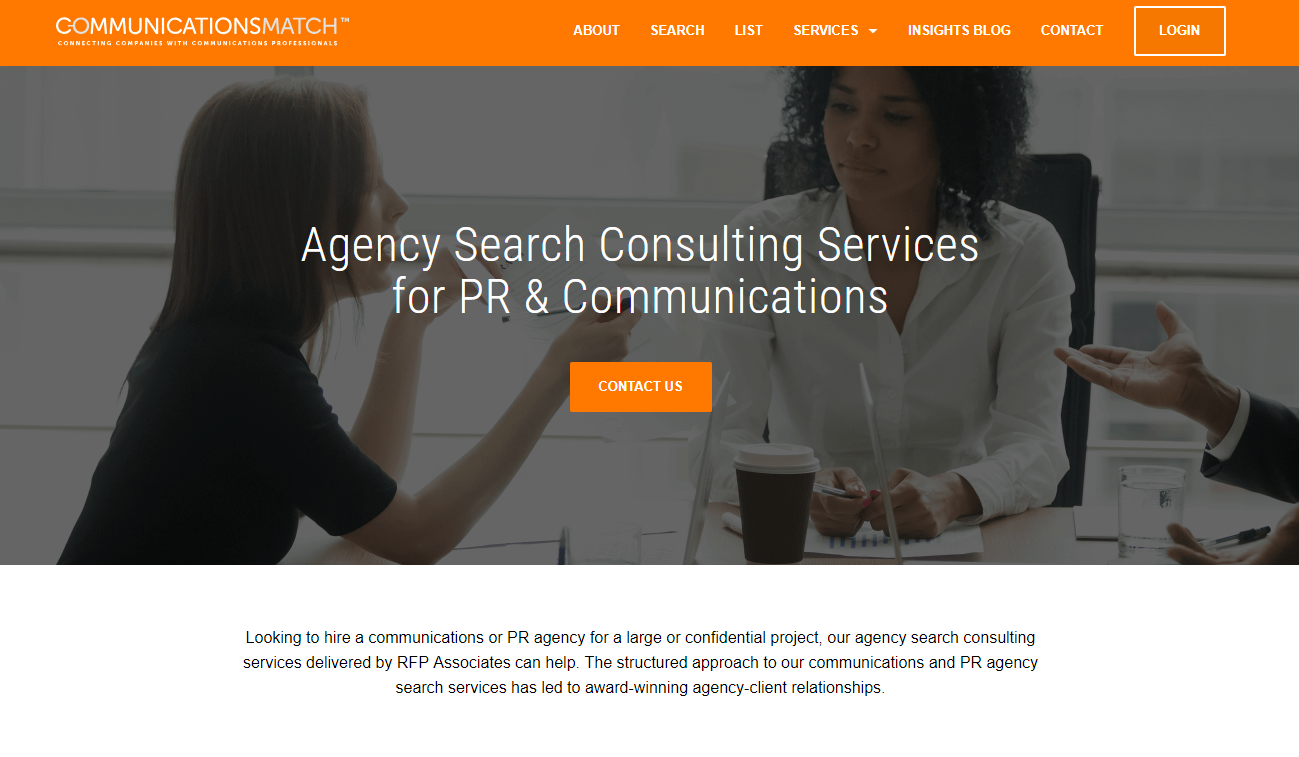 Agency Search Services: Agency Search Consulting